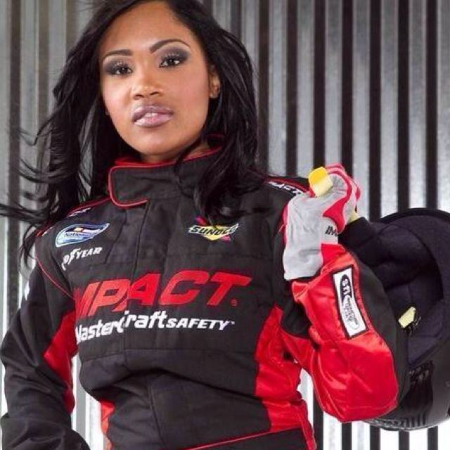 She's HOTT!!! Tia Norfleet, NASCAR's first and Only African American Female Licensed Driver (2011)