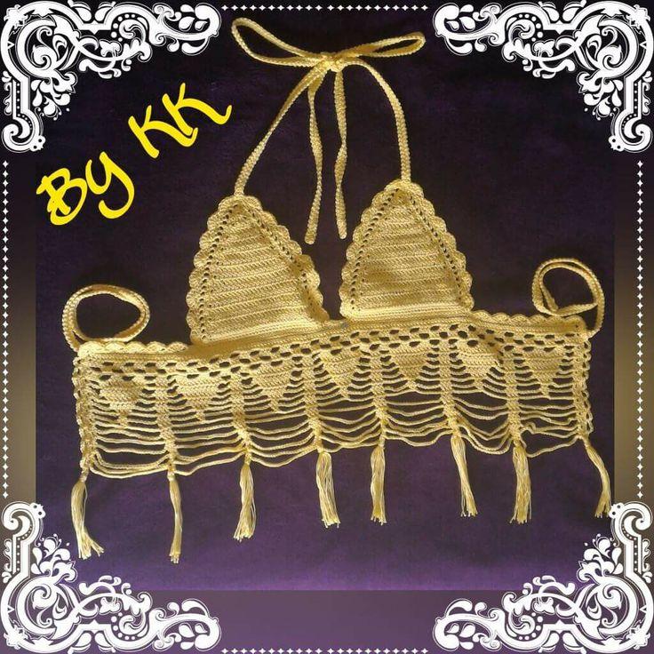 Top bikini Crochet - Top all'uncinetto