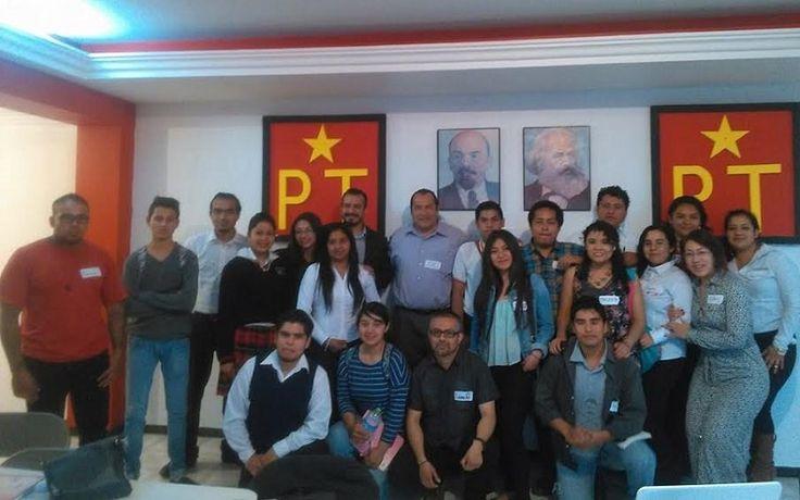 Al taller acudieron jóvenes de las preparatorias técnicas populares pertenecientes del proyecto educativo del PT y universitarios que sienten deseos de hacer política y que desean formar parte de los ...