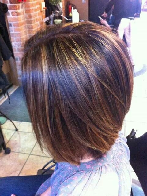 "These are the types of ""thin"" highlights I like and want!! Not necessarily the carmel color."