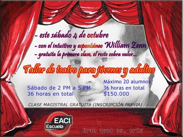 Taller de Teatro con William Zenn