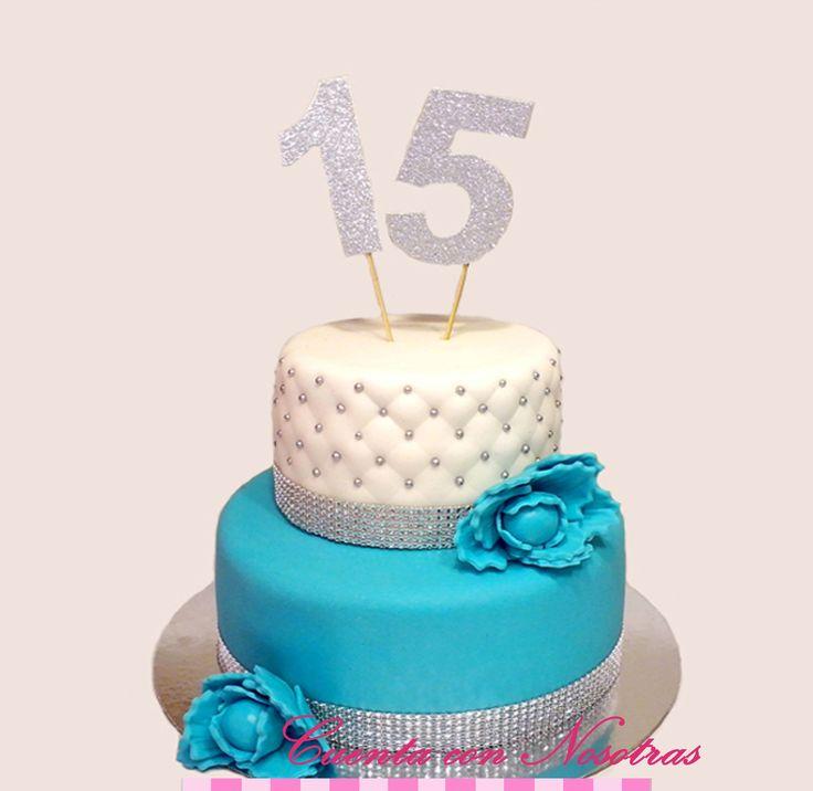 Torta 15 años Cuenta con Nosotras