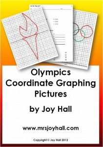 FREE Olympic Medal Coordinate Graphing Activity!