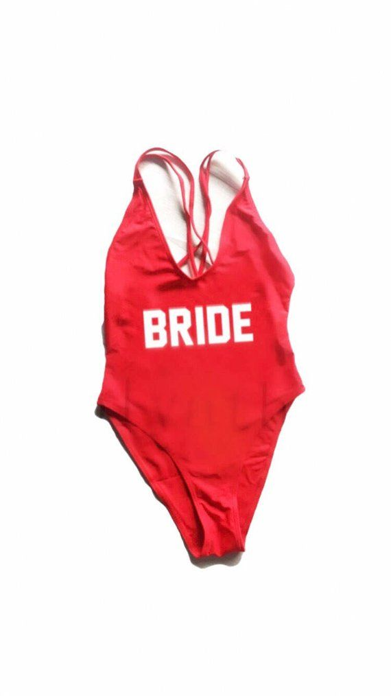 302cc2834a New! Ready to ship! Cross back suit- Bride -Bathing suit