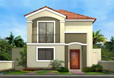 fachadas de casas pequeñas de dos pisos - Buscar con Google