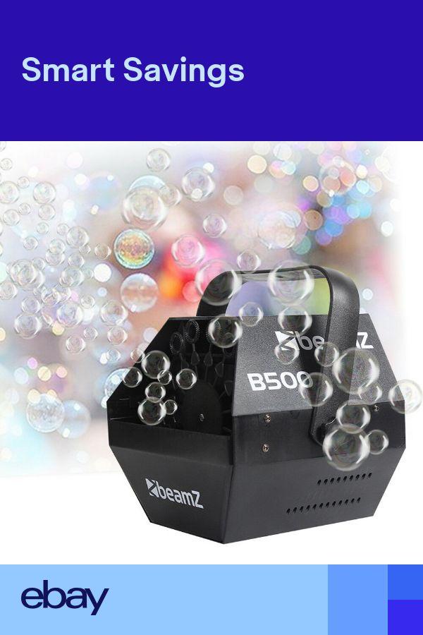 60W Electric Bubble Blower Machine High Output DJ Disco Club Childrens Party