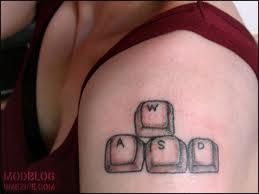 Pc gamer tattoo