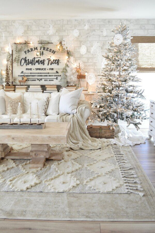 Pinterest Images White House Christmas 2020 white christmas mantle Blond Amsterdam in 2020 | Christmas