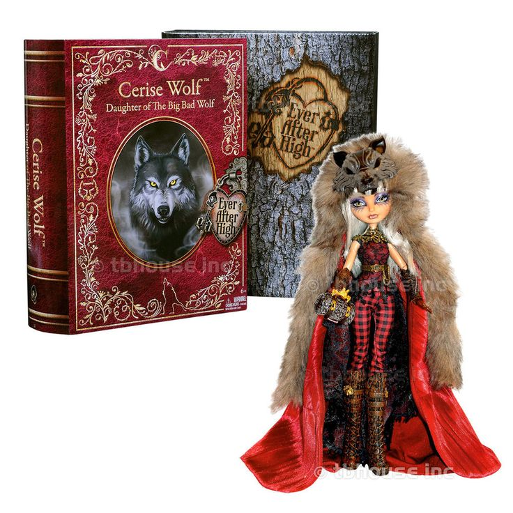 """11"""" CERISE WOLF doll EVER AFTER HIGH mattel 2014 SDCC EXCLUSIVE hood COMIC-CON  #Mattel #DollswithClothingAccessories"""