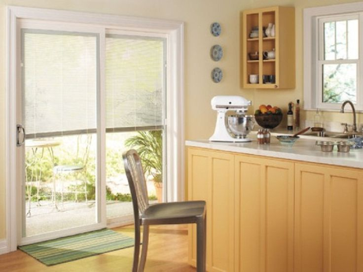 Kitchen Patio Door Window Treatments