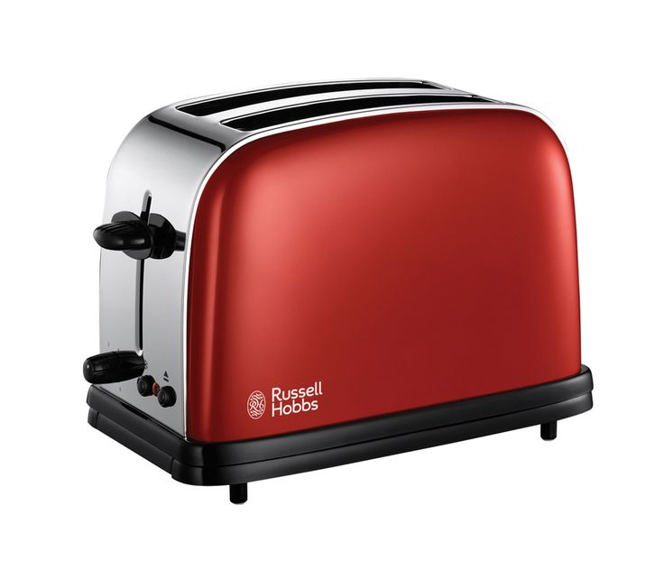 RUSSELL HOBBS Colours 18951 2-Slice Toaster - Red