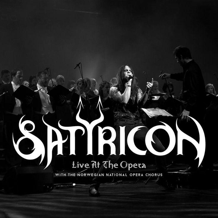 Caratula Frontal de Satyricon - Live At The Opera