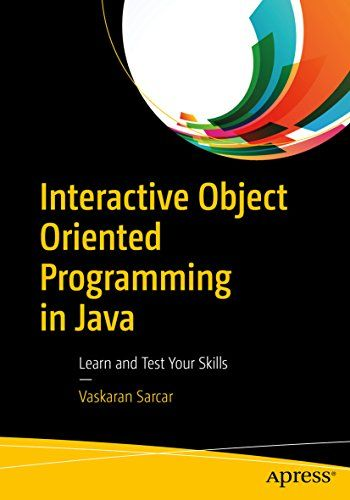 Interactive Object Oriented Programming in Java Pdf Download