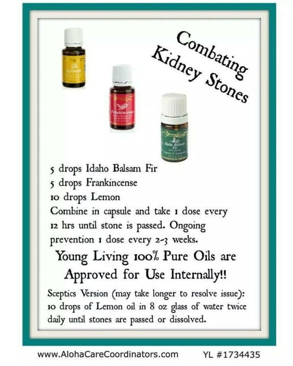 Young Living Essential Oils: Kidney Stones by Sherri32