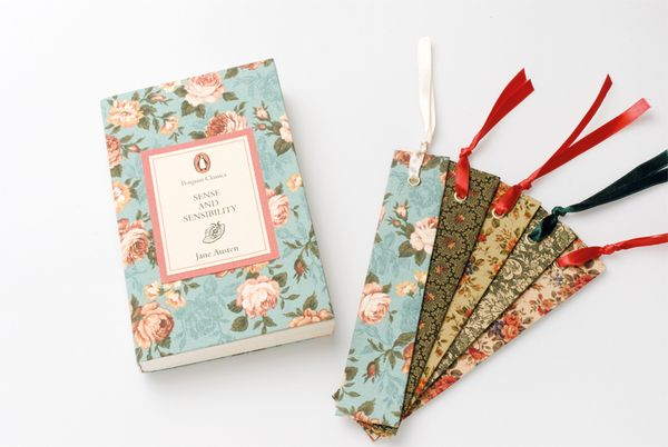 Jane Austen Book Covers by Jessica Parker, via Behance