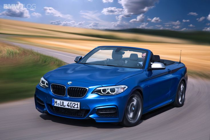 THE NEW BMW 2 SERIES CONVERTIBLE - http://www.bmwblog.com/2014/09/10/2015-bmw-2-series-convertible/