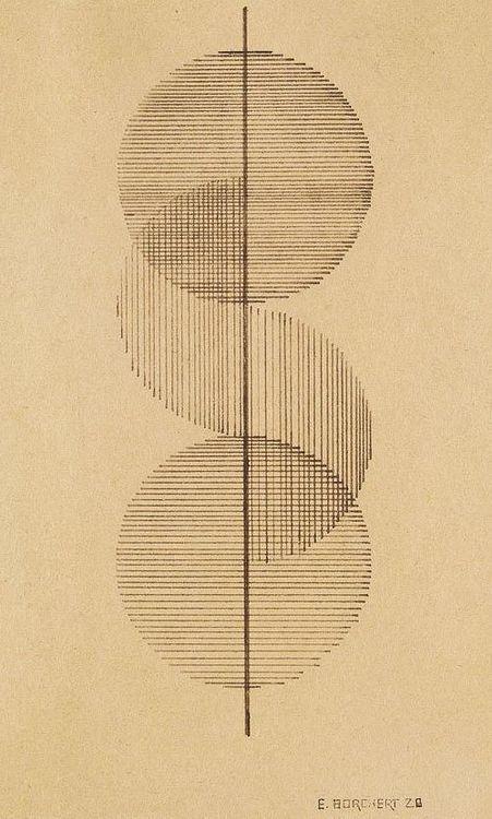 Erich Borchert - Tuschfederzeichnung (1928)