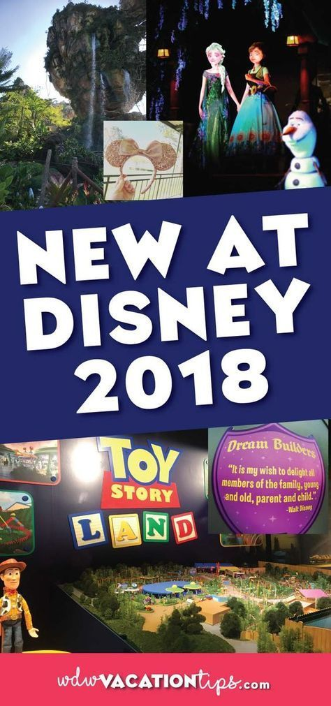 Check out what's new at Disney World in 2018. The perfect Disney vacation planning tool.