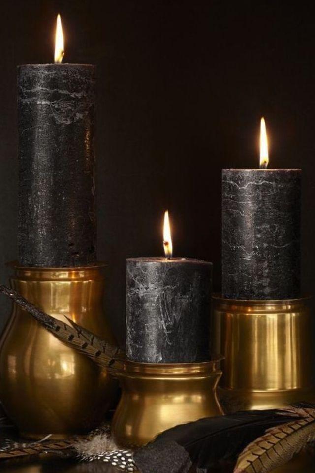 OPULENT BLACK/GOLD.... (evelina) BellaDonna