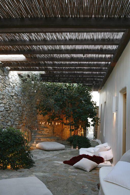 Villa Holzverkleidete Terrasse Aussicht Tacoronte jardin del sol Betonkonstruktion