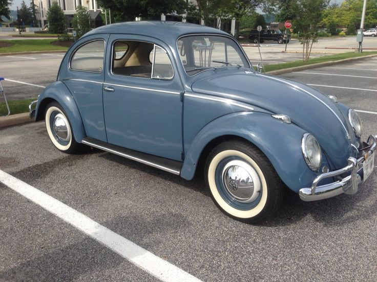 Photo Collection 1959 Vw Blue Beetle