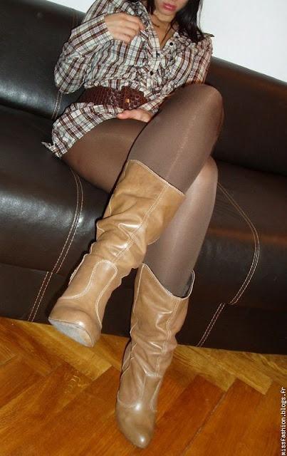 Strumpfhose Anziehen