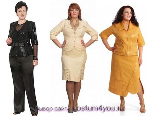 Пиджак женский большого размера классический