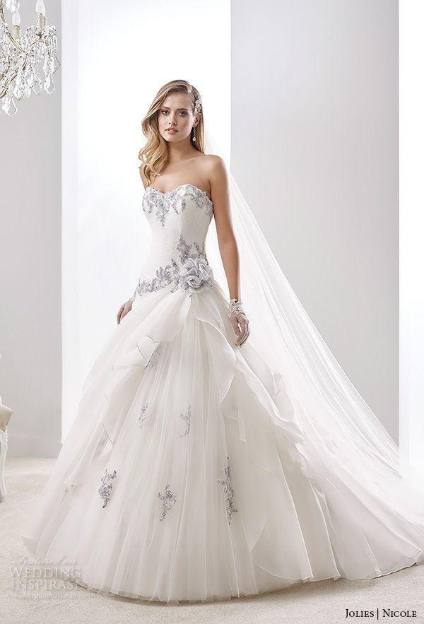 От плеча белое свадебное ну вечеринку бальные платья без бретелек бальное платье Zhuhair Murad свадебное платье 2015 ( WDS-144 )