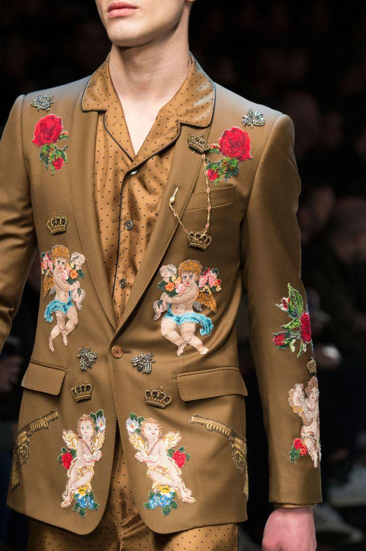 Dolce & Gabbana menswear FW16 - Runway Sass