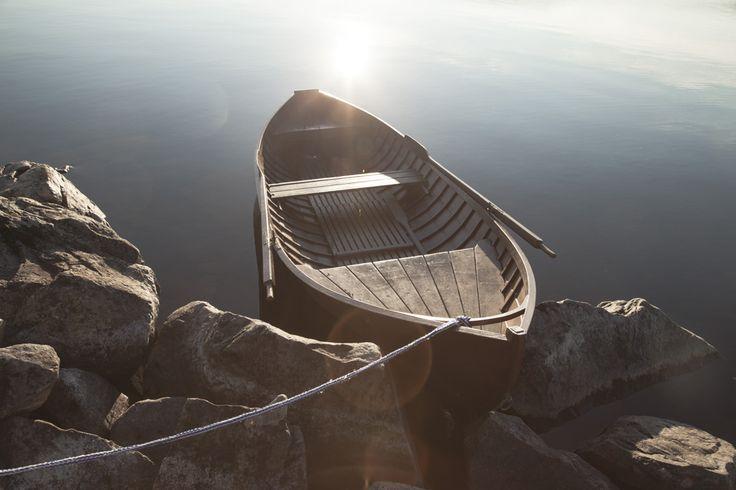 Wooden boat. #koli #finland #nature #water #lake #reflection #reflection_perfection