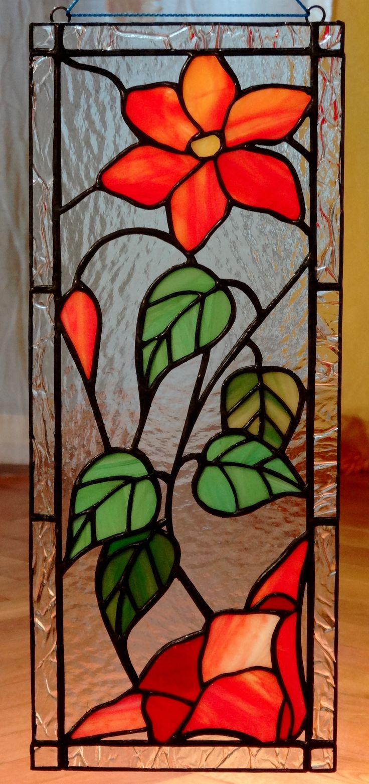25 best ideas about stained glass flowers on pinterest for Window glass design images