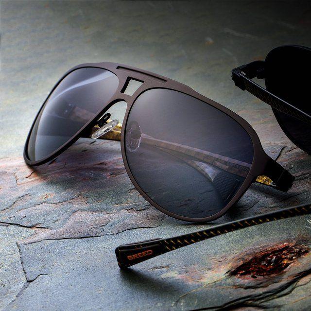 Breed Apollo Brown Carbon Fiber Sunglasses #Carbon, #Style, #Sunglasses