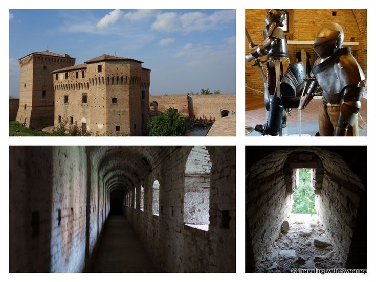 The #fortresses and #castles of Emilia-Romagna: La Rocca Malatestiana, Cesena, Italy from Top Reasons to Visit Emilia-Romagna via Traveling with Sweeney