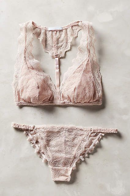 Eberjey Georgette T-Back Bralette - anthropologie.com