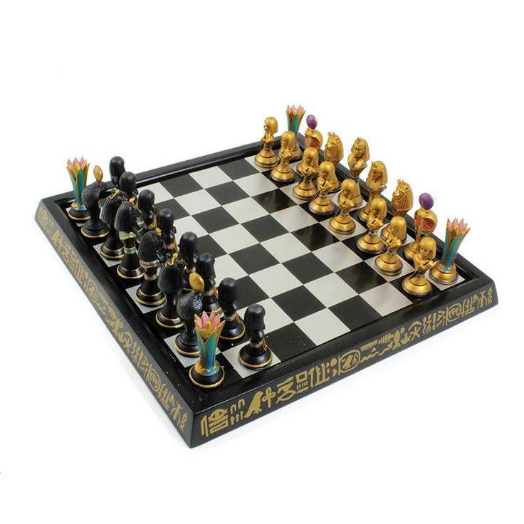 Exclusive Design Egypt Chess Set