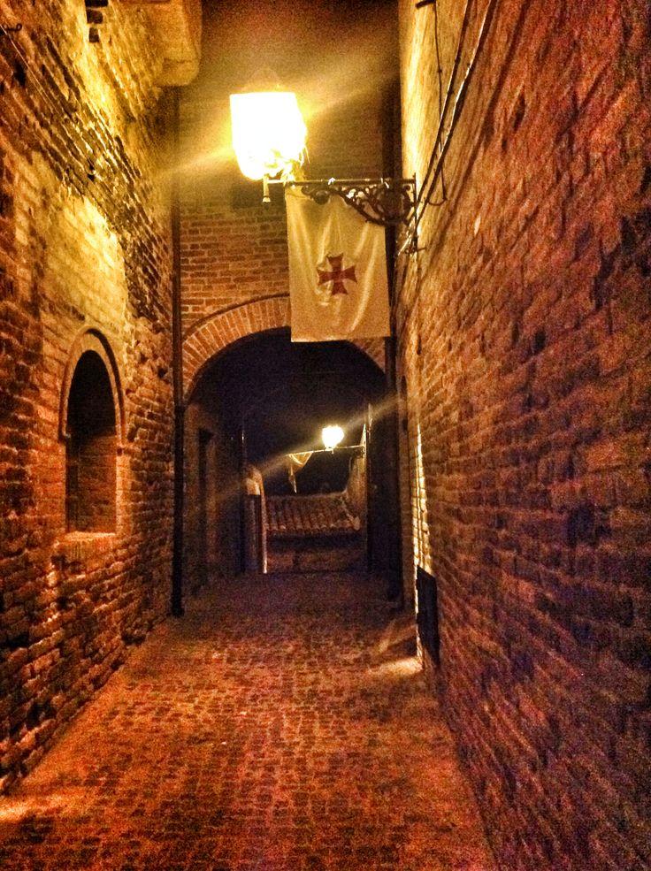 Il vicolo per l'Orto della Madonna - mew to Orto della Madonna