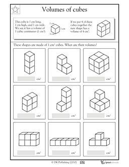 great for beginners volume worksheet math volume worksheets 5th grade math math worksheets. Black Bedroom Furniture Sets. Home Design Ideas