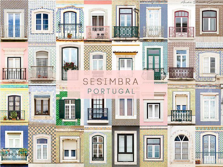 Sesimbra, Portugal #windows #doors #photography #AllAroundTheWorld #AndreGoncalves #Photographer #Europe #World #Art #Design #Culture #Community #WindowOfTheWorld #DoorsOfTheWorld #designersdome #inspiration #BeInspired #BeautexLuxuryConcepts #since1963