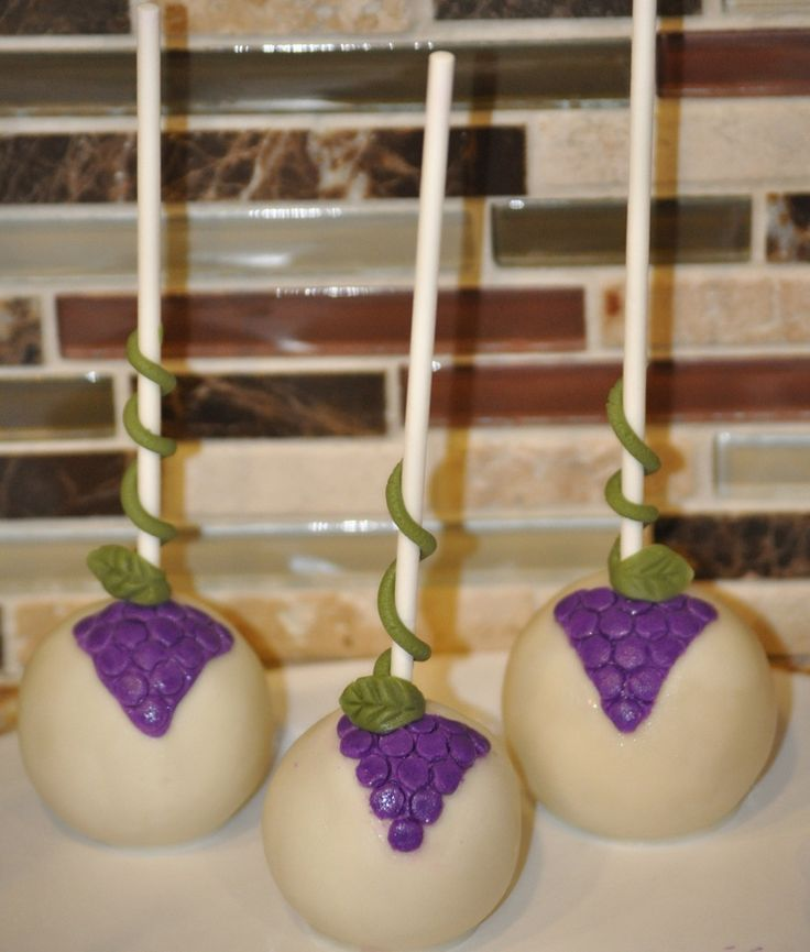 Wine Themed Cake Pops | wine theme cake pops — Cake Pops / Cake Balls