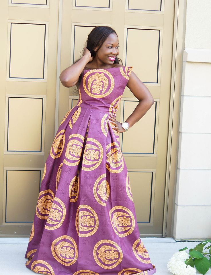 17 Best Images About African Dresses On Pinterest