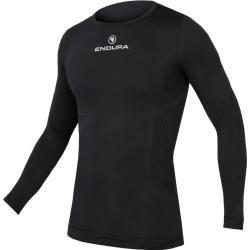 Urban Classics Herren Langarmshirts Sweatshirt Longsleeve Thermal Boxy Tee 3/4tb981 blk/blk Leather