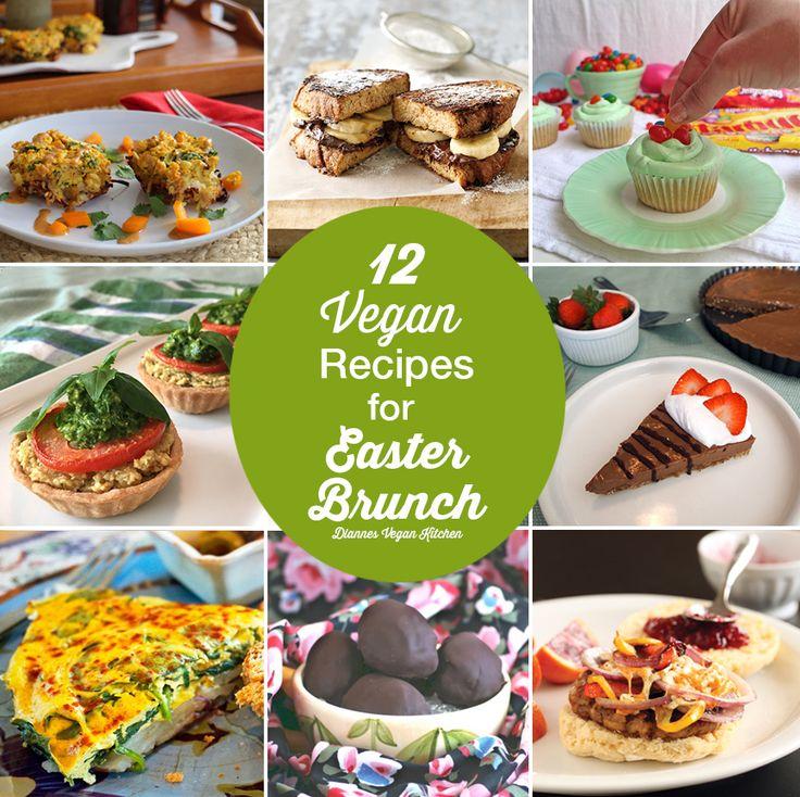 12 Vegan Recipes for Easter Brunch