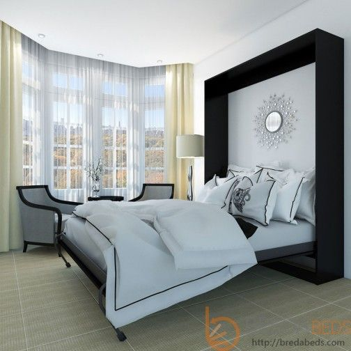 murphy bed for the guest room or office really like this one good website