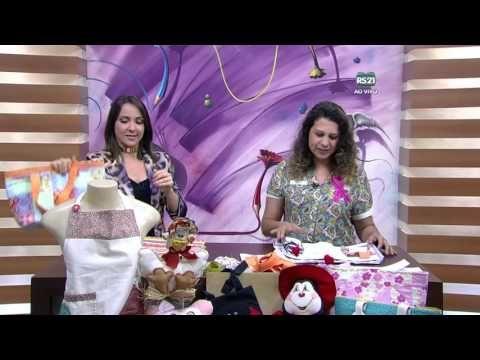Mulher.com - 22/10/2015 - Bolsa térmica em pacth - Edileny Gomes PT1 - YouTube