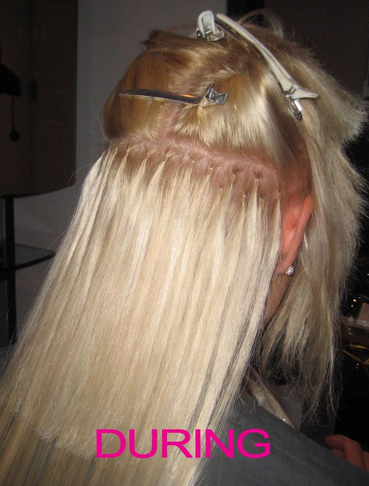 Hair Extensions Cost | Mobile, genuine professional hair services: Micro-ring Hair Extensions