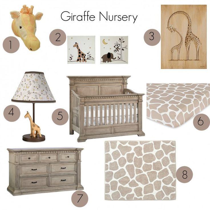 Giraffe Nursery Inspo Board - Munire Venetian Collection