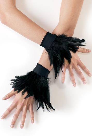 Feather Wrist Cuffs - Balera