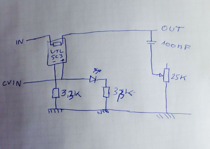 MUFF WIGGLER :: View topic - Passive Low Pass Gate - Vactrols