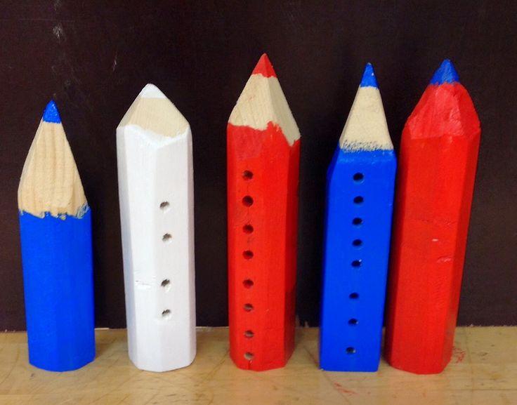 Teknisen työn taiturit: kynäteline