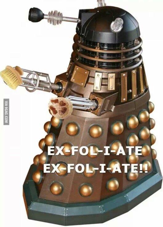 dalek-exfoliate